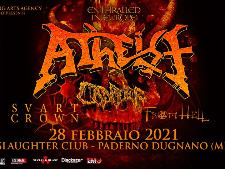 Atheist @Slaughter Club – Paderno Dugnano (Mi), 28 febbraio 2021