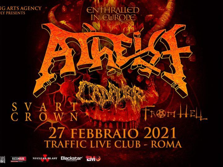 Atheist @Traffic Live Club – Roma, 27 febbraio 2021