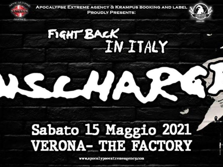 Discharge @The Factory – San Martino Buon Albergo (Vr), 15 maggio 2021