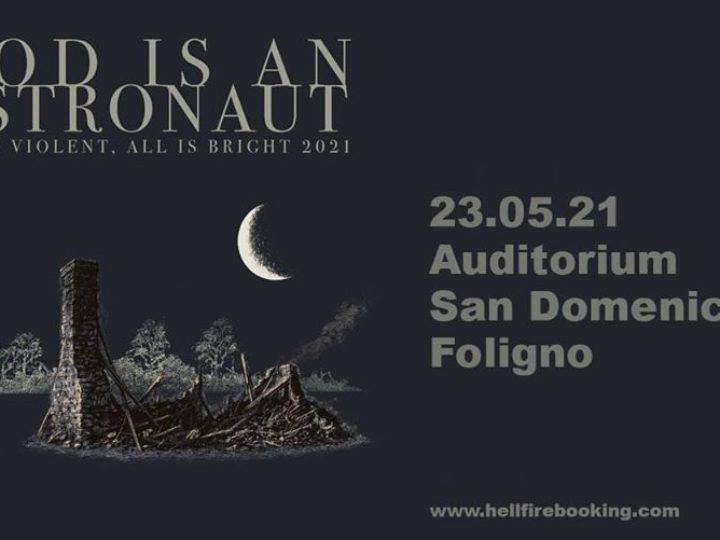 God Is An Astronaut @Auditorium San Domenico – Foligno (Pg), 23 maggio 2021