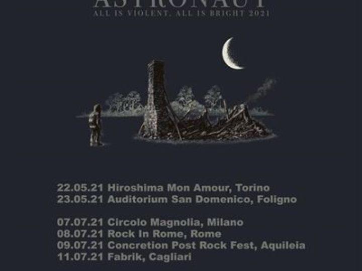 God Is An Astronaut @Hiroshima Mon Amour – Torino, 22 maggio 2021