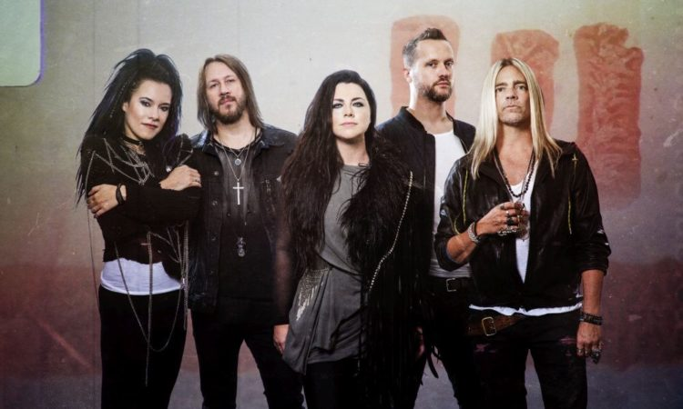 Evanescence, i dettagli dell'evento livestream 'A Live Session From Rock Falcon Studio'