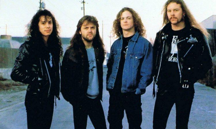 Metallica, in streaming il concerto di Irvine del 1989