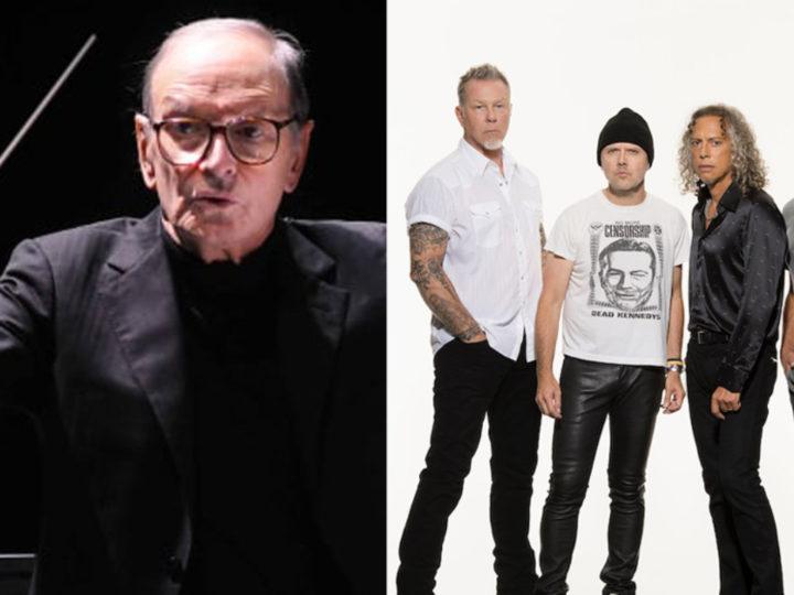 """Metallica, """"Grazie Ennio per averci ispirato, sarai sempre parte della band"""""""