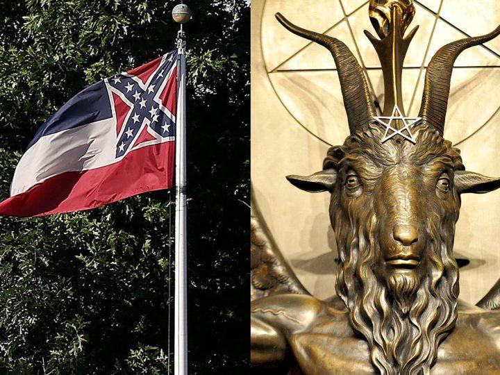 Stati Uniti, 'In Satan We Trust' sulla nuova bandiera del Mississippi?