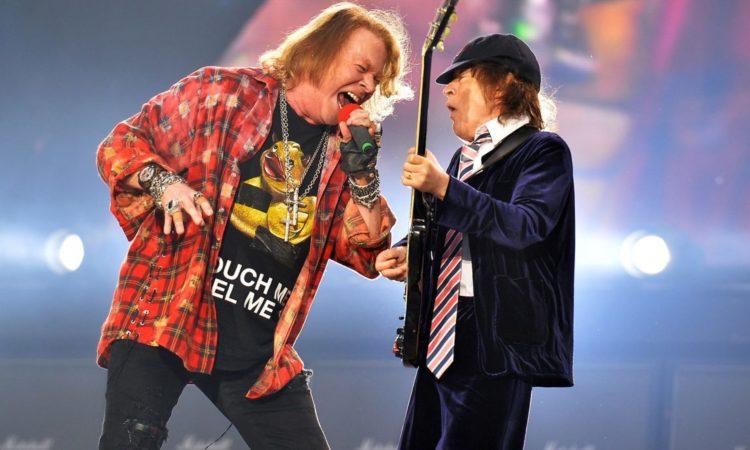 AC/DC, guarda tutto il concerto di Philadelphia con Axl Rose alla voce