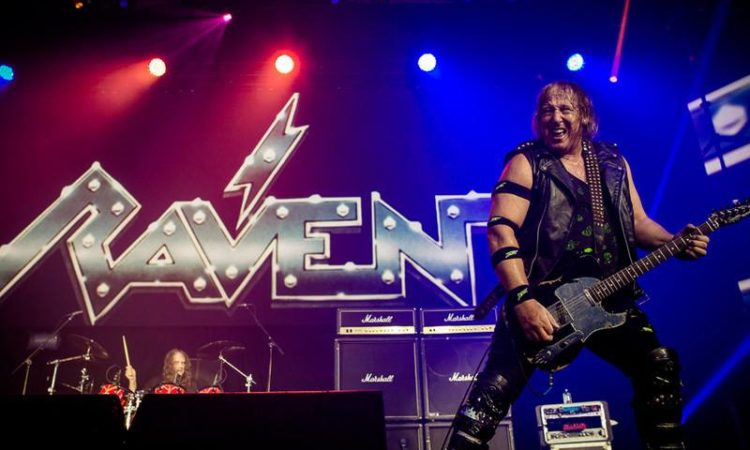 Raven,  on line il video di 'Metal City'