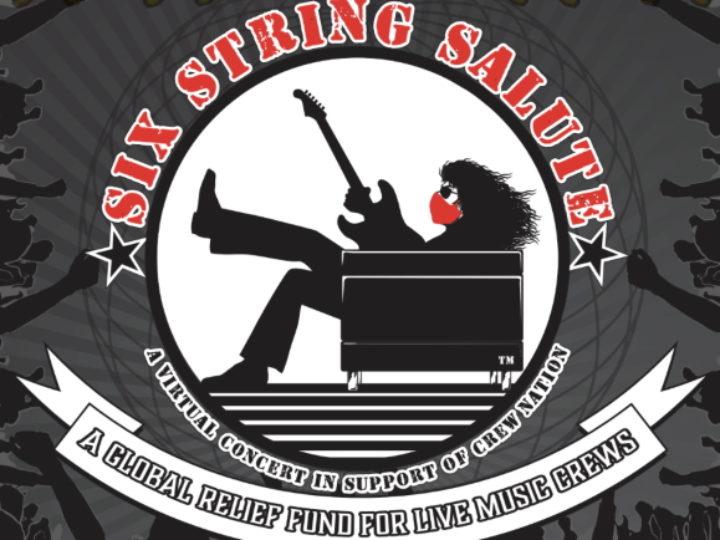 Six String Salute, il concerto online a sostegno della musica dal vivo
