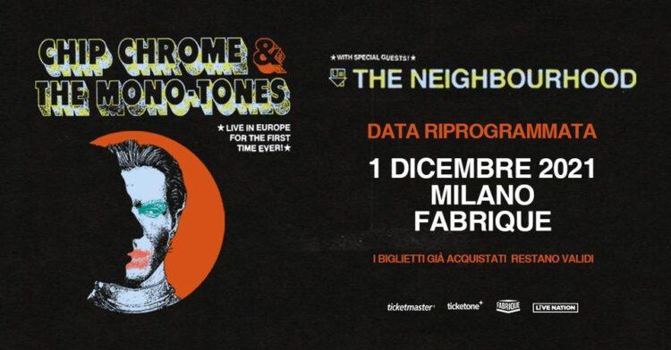 The Neighbourhood @Fabrique – Milano, 01 dicembre 2021