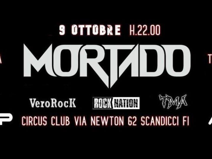 Mortado @Circus Club – Scandicci (Fi), 09 ottobre 2020