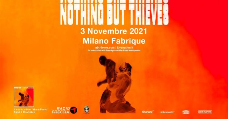 Nothing But Thieves @Fabrique – Milano, 03 novembre 2021