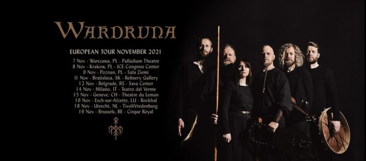 Wardruna @Teatro dal Verme – Milano, 14 novembre 2021