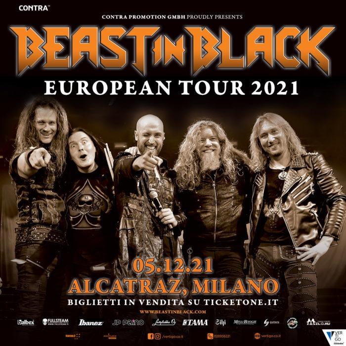 Beast in Black @Alcatraz – Milano, 05 dicembre 2021