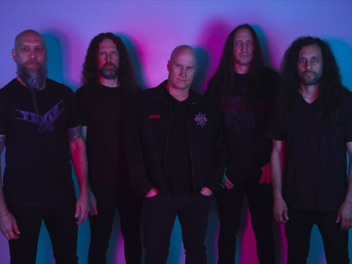Heathen, on line il lyric video di 'In Black'
