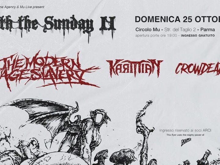 Death The Sunday II @MU Parma – Parma, 25 ottobre 2020
