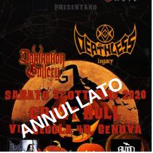 Deathless Legacy @Crazy Bull – Genova, 31 ottobre 2020