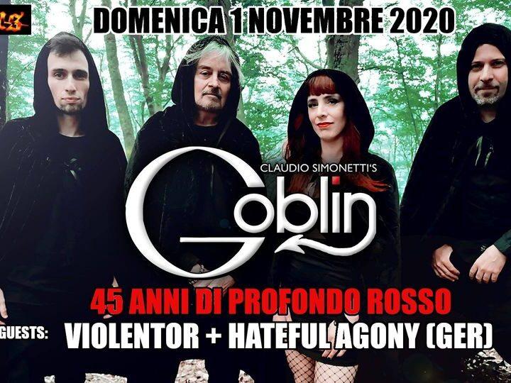 Claudio Simonetti's Goblin @Circus Club – Scandicci (Fi), 01 novembre 2020