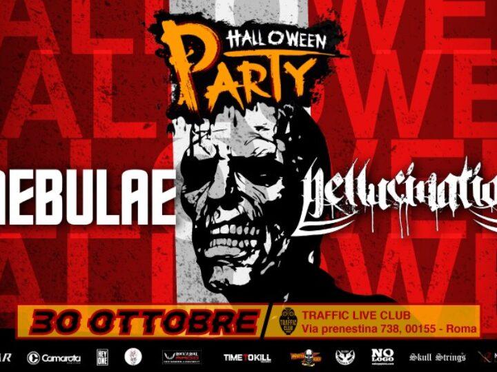 Nebulae + Hellucination @Traffic Live Club – Roma, 30 ottobre 2020
