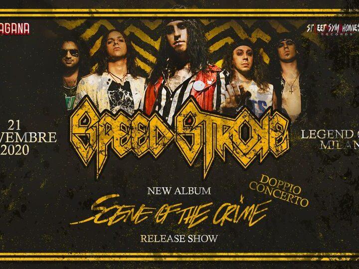Speed Stroke @Legend Club – Milano, 21 novembre 2020