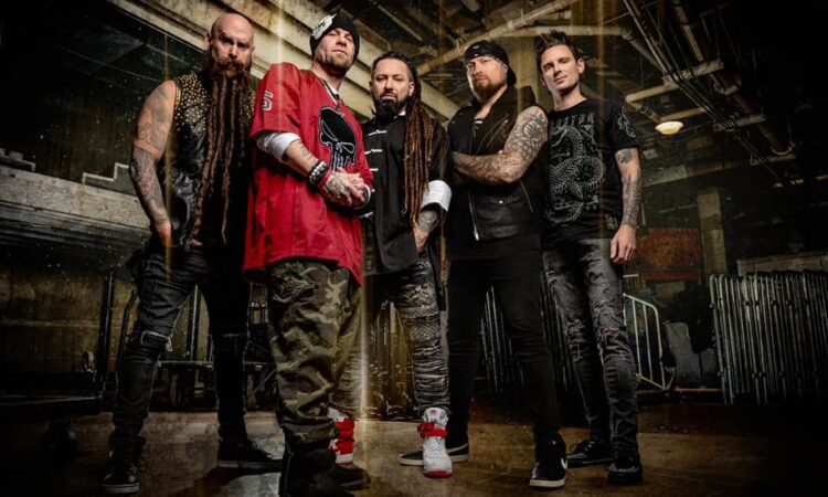 Five Finger Death Punch, Andy James è il nuovo chitarrista