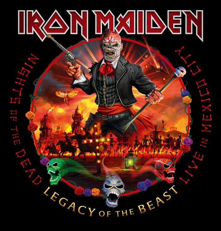 Iron Maiden – Nights Of The Dead Legacy Of The Beast – Live In Mexico City