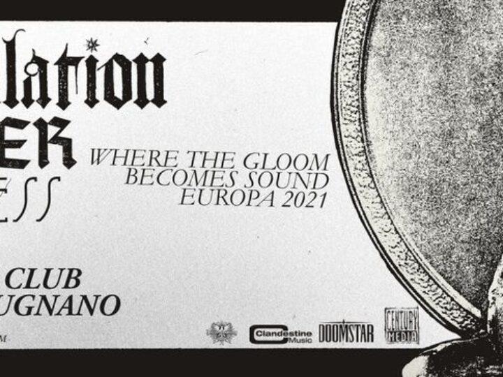 Tribulation + Guests @Slaughter Club – Paderno Dugnano (Mi), 24 settembre 2021