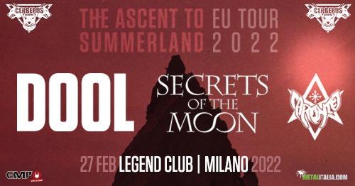 Dool @Legend Club – Milano, 27 febbraio 2022