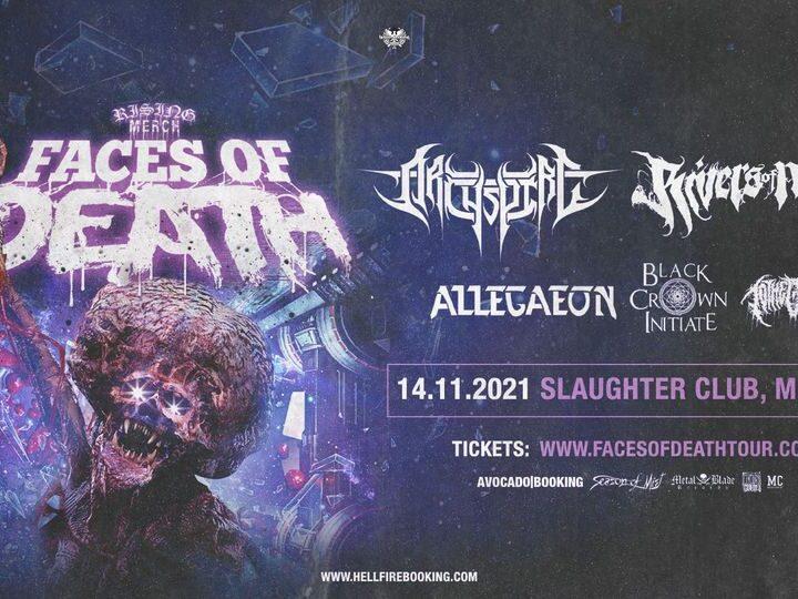 Faces Of Death @Slaughter Club – Paderno Dugnano (Mi), 14 novembre 2021