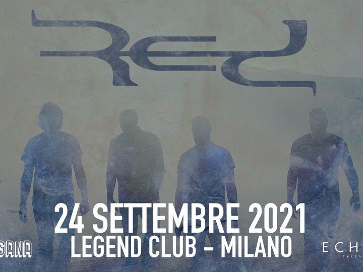 Red @Legend Club – Milano, 24 settembre 2021