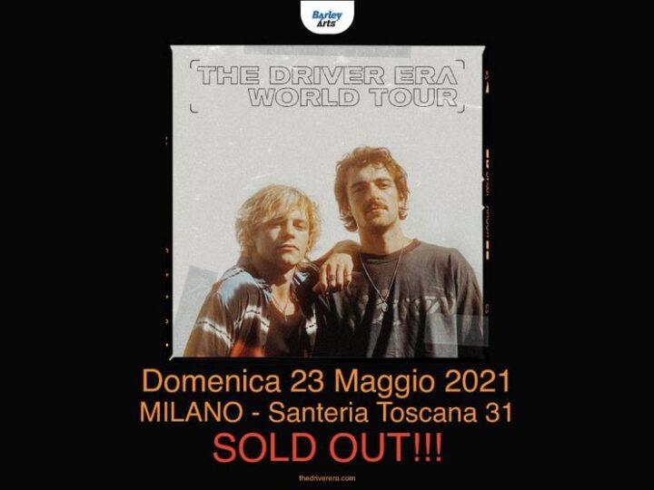 The Driver Era @Santeria Toscana 31 – Milano, 23 maggio 2021 ( ANNULLATO )