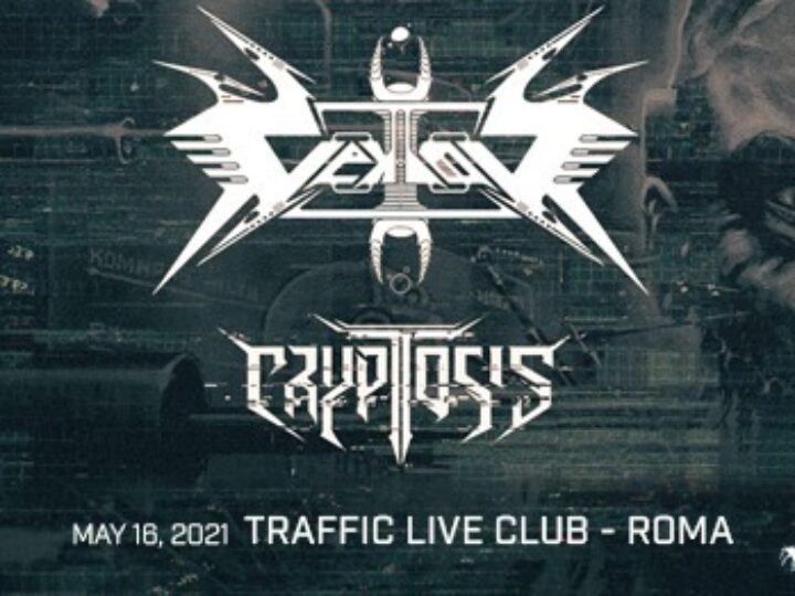 Vektor + Cryptosis @Traffic Live Club – Roma, 16 maggio 2021