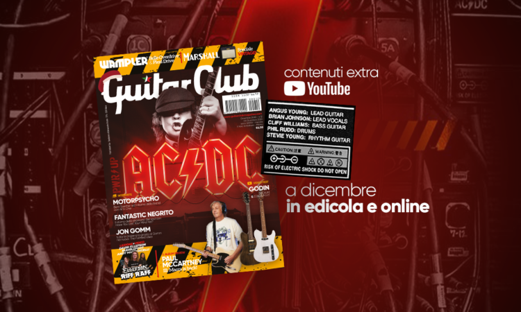 Guitar Club, in edicola il nuovo numero con un po' di Metal Hammer all'interno