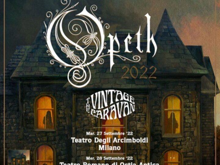 Opeth @Teatro degli Arcimboldi – Milano, 27 settembre 2022