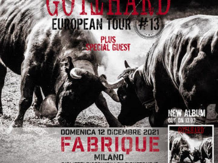Gotthard @ Fabrique – Milano, 12 dicembre 2021