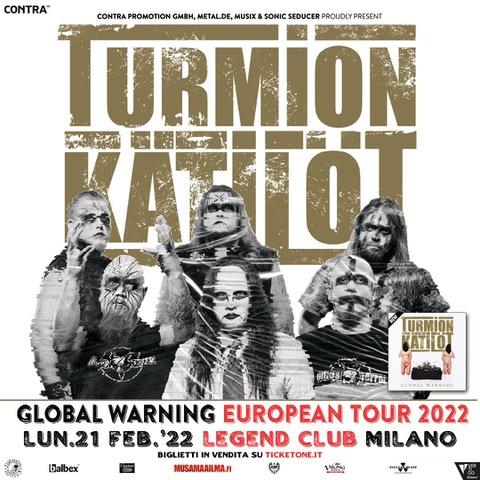 Turmion Katilot @ Legend Club – Milano, 21 febbraio 2022