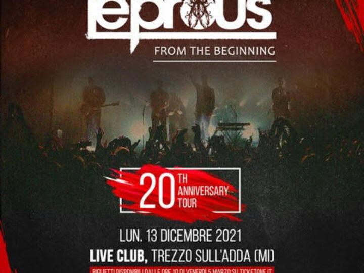 Leprous + special guest @ Live Club – Trezzo sull'Adda, 13 dicembre 2021