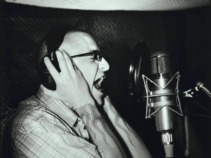Linkin Park, alcune foto dalla recording session di 'Meteora'