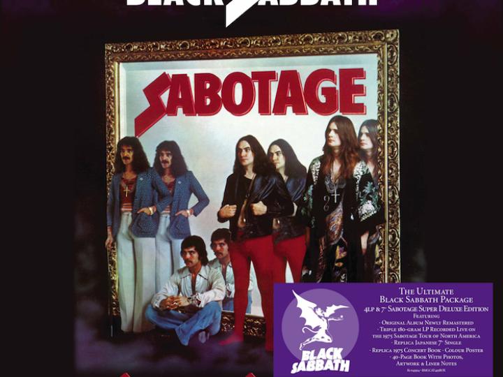 Black Sabbath, la BMG pubblica una edizione deluxe dell'album 'Sabotage'