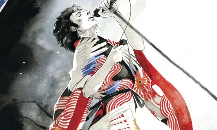 Freddie Mercury, la prima graphic novel biografica