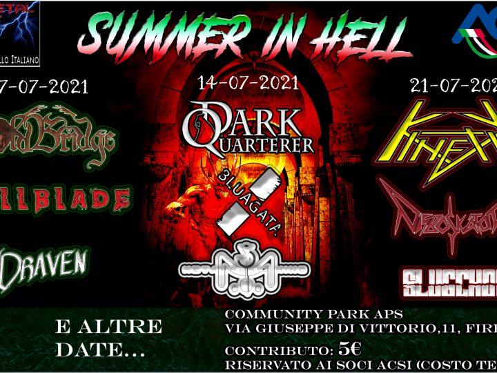 Summer In Hell, il ritorno del metal underground