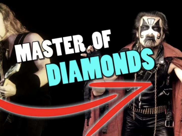 Metallica, e se Master Of Puppets fosse stata composta dai King Diamond?
