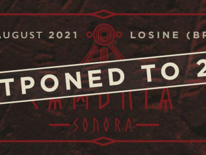 Camunia Sonora, rimandato al 2022