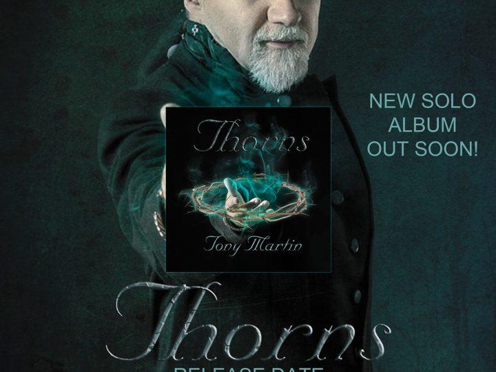 Tony Martin, l'ex cantante dei Black Sabbath a lavoro su un nuovo album