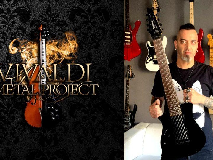 Vivaldi Metal Project, il chitarrista Francesco Corapi entra nella live band