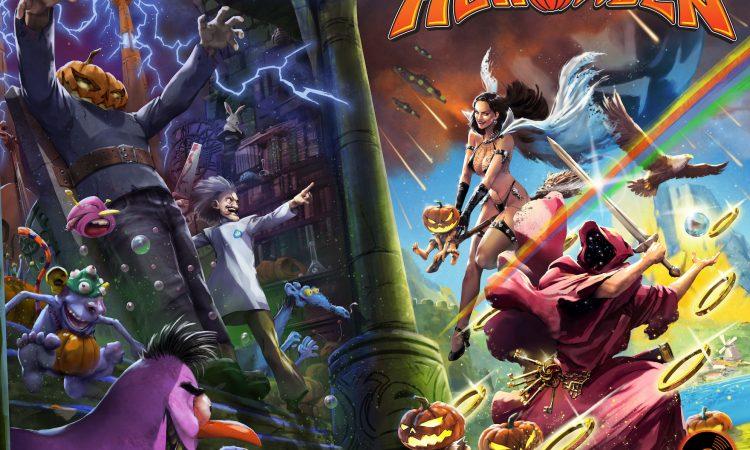 Helloween, collaborazione con Incendium per un fumetto e action figures