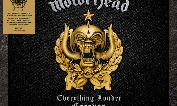 Motörhead, in arrivo la raccolta 'Everything Louder Forever'