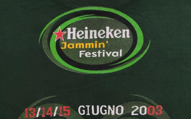Heineken Jammin' Festival @Autodromo di Imola, 13/14/15 giugno 2003